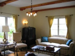 Masselin Avenue Historic Art Deco Living Room 3