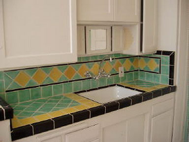 Cochran Avenue Historic Art Deco Kitchen Tiles
