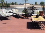 Stanley Avenue apartment rooftop sundeck