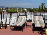 464-1; rooftop lounge chairs