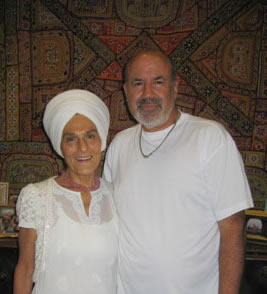 With yoga guru, teacher, and author Germukh Khalsa