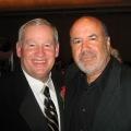 With former LA fire chief P. Michael Freeman