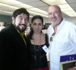 With Raul Rodriguez, Tournament of Roses all-time award-winning float designer & Maribel Salazar, lead soprano of La Boheme