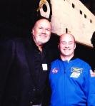 Dave w-Astronaut GarrettReisman