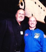 With NASA Astronaut Garrett Reisman at CA Science Center/Endeavor
