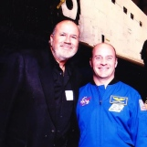With NASA Astronaut Garrett Reisman at CA Science Center/Endeavor