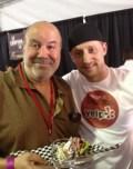 With Top Chef Michael Voltaggio